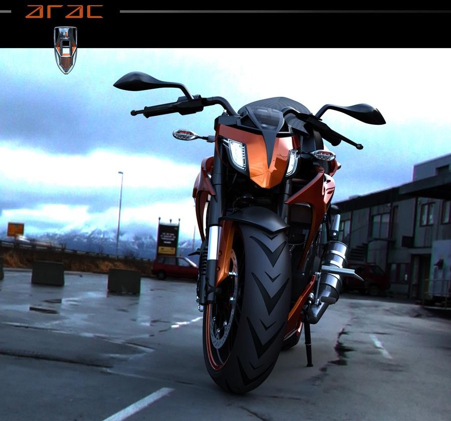 Уличный воин ZXS ARAC мотоцикл завтрашнего дня PRO Tuning Портал Тюнинг автомобилей
